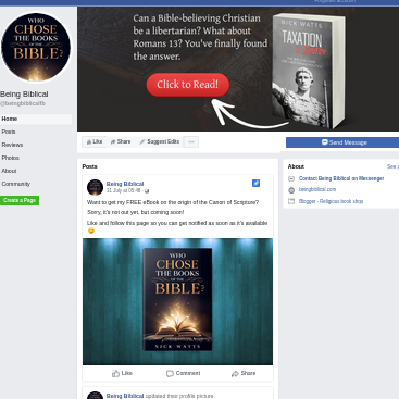Facebook page screenshot.